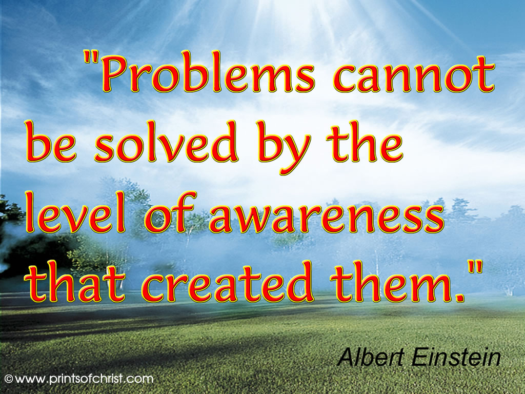 Einstein on Problem Solving Image