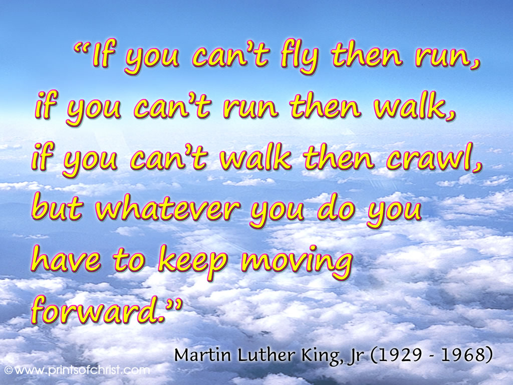 Martin Luther King Run Wallpaper
