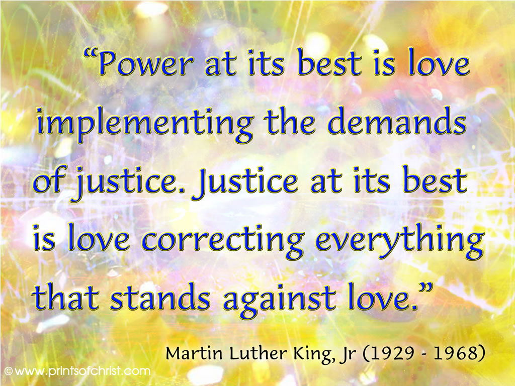 MLK words on Love Wallpaper