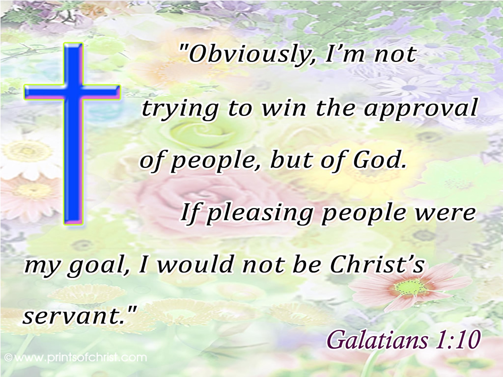 Galations 1:10 Background