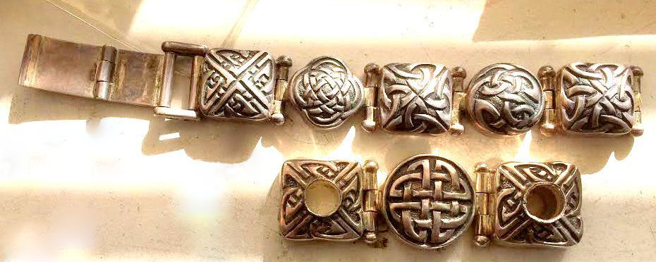 celtic design astrological bracelet or bangle