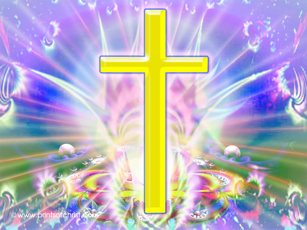 colorful cross image