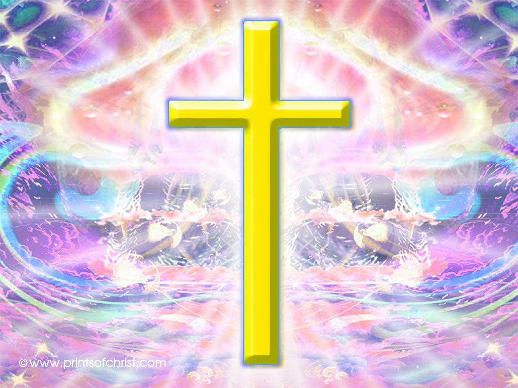 yellow cross background