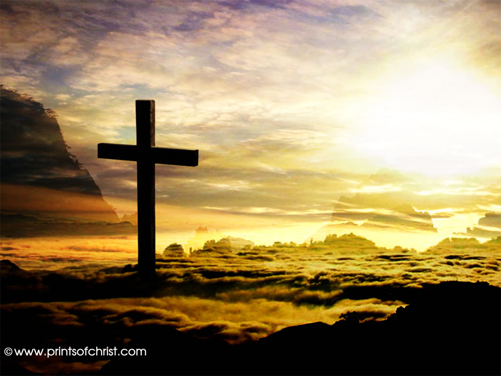 cross in the clouds picture