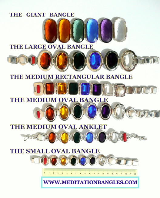 Meditation Bangle Sizes