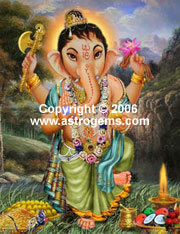 Baby Ganesha picture