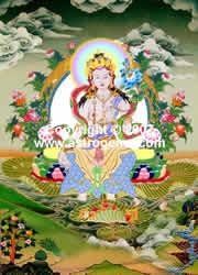 Tibetan White Tara