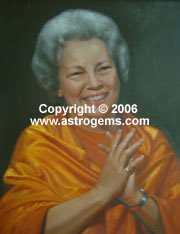 Sri Daya Mata painting