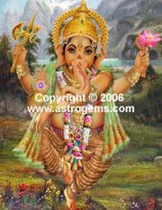 Dancing Ganesh
