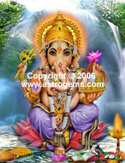 Travel alter of Ganesha