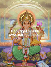 Color pictures of Ganesha