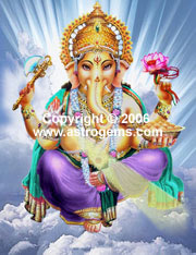 Canvas print of Ganesha