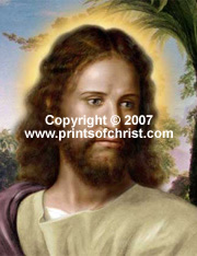 Postcard of Jesus