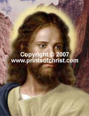 Print of Christ