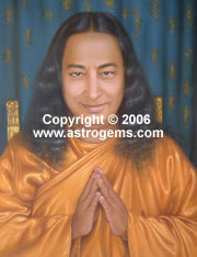 Travel alter of Yogananda