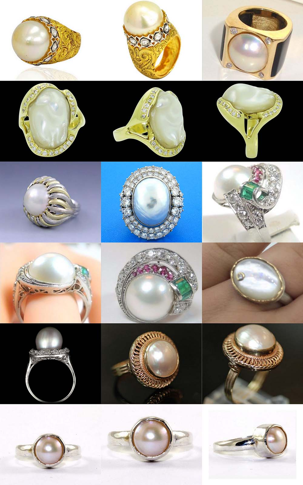 Astrogems can make ayurvedic astrological pearl rings in any style.