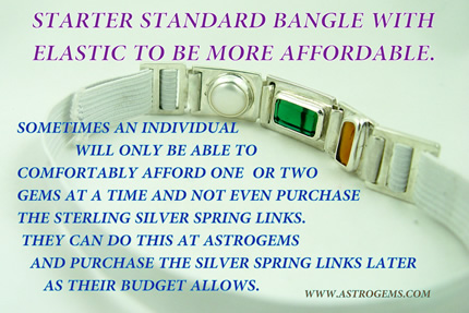 starter standard bangle with elastic