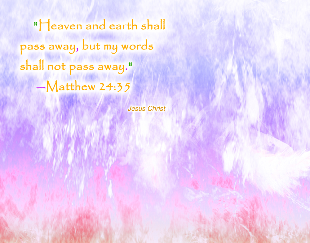 Jesus Christ Heaven and Earth wallpaper