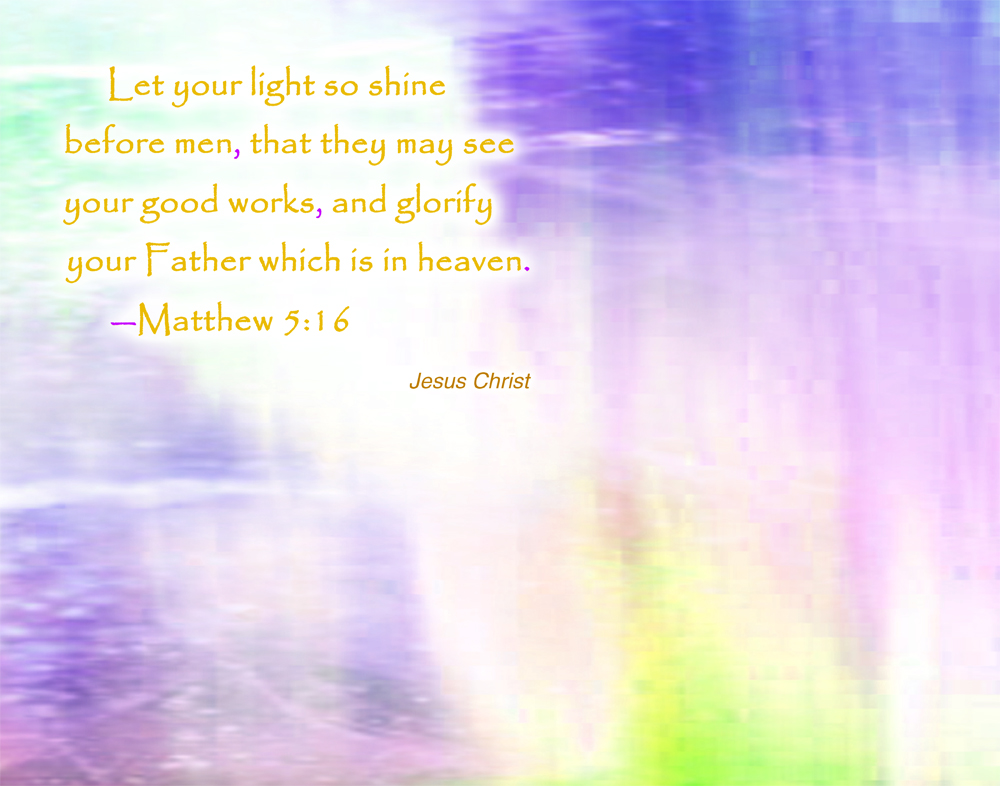 Jesus Christ light shine wallpaper