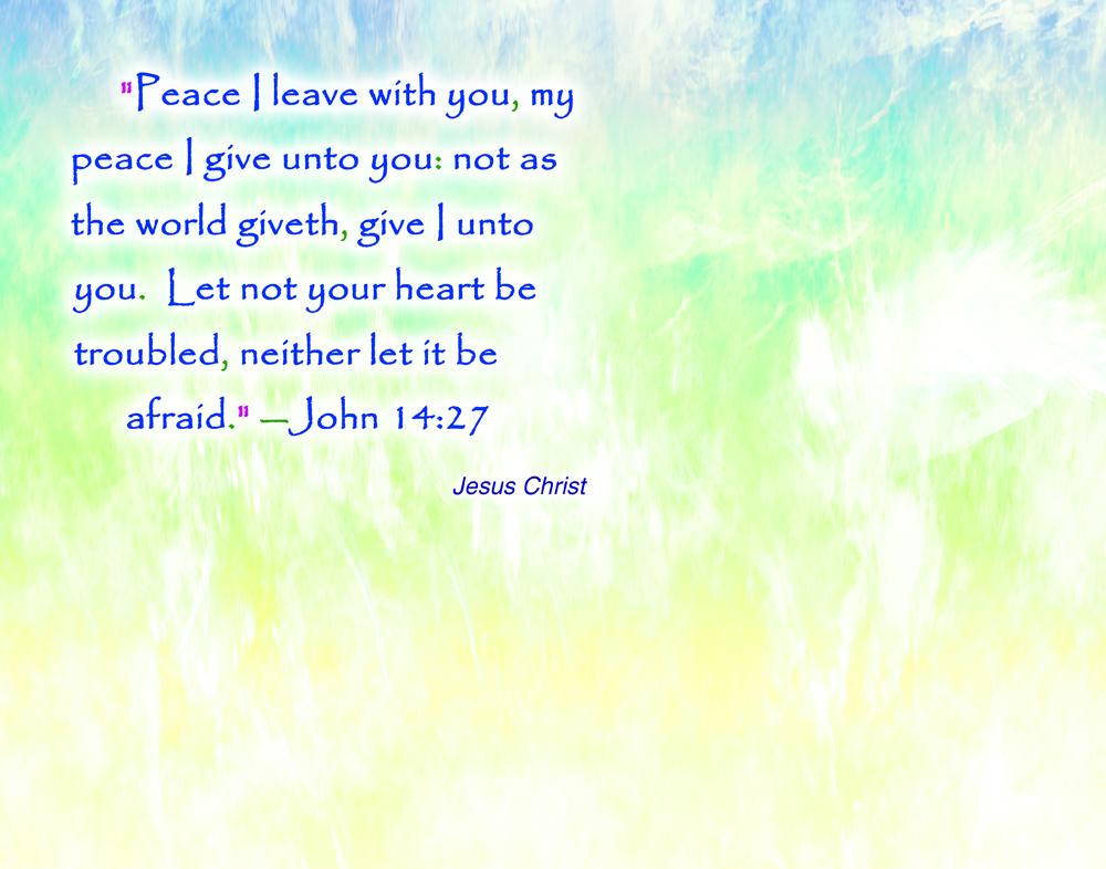 JCQ14 Jesus Christ Peace Wallpaper