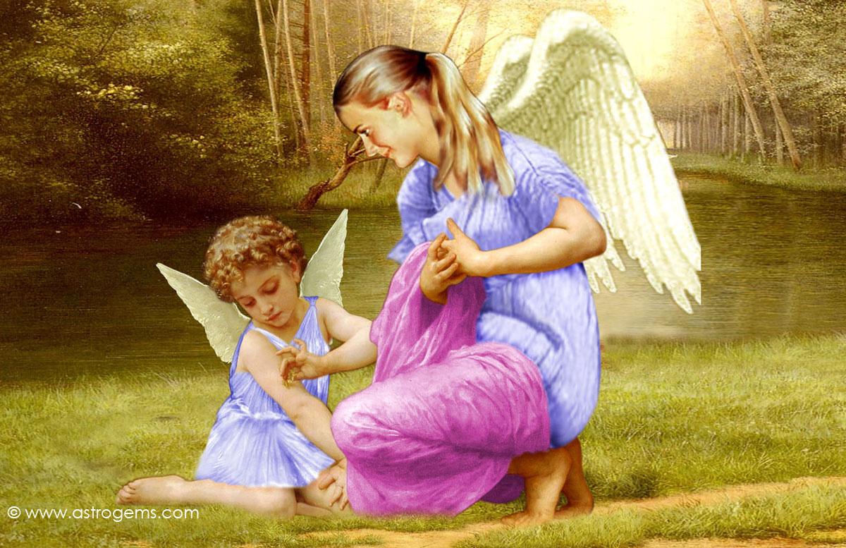 free angel wallpaper