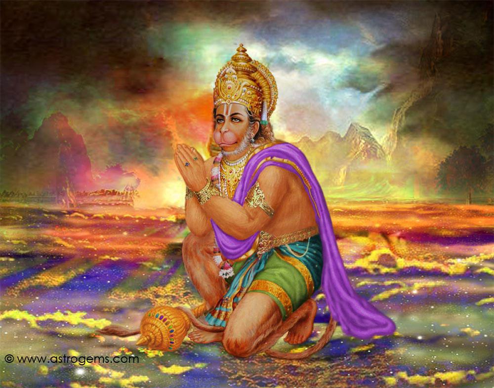 image of god hanuman ji. HAN06 Hanuman ji