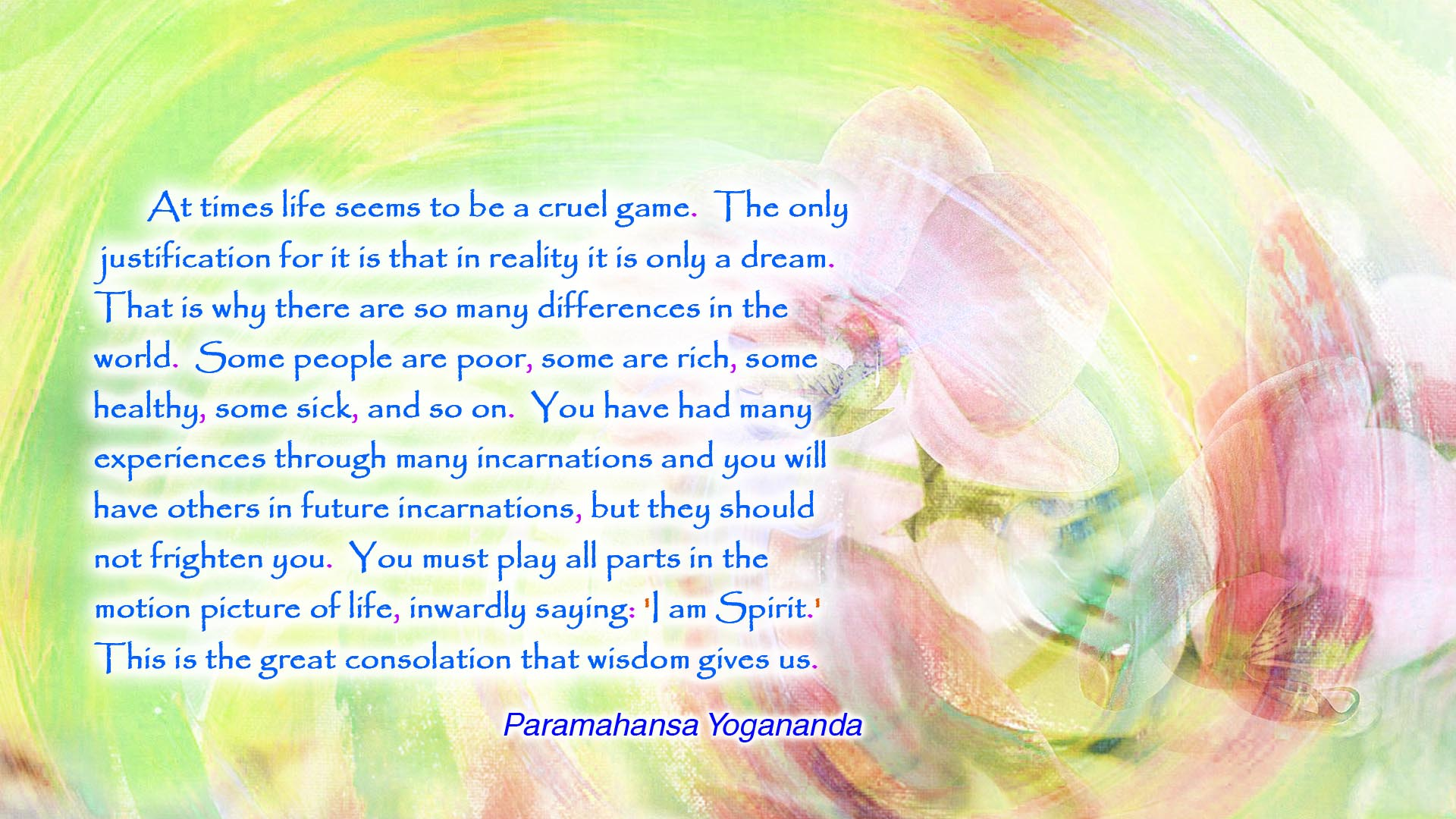 Yogananda incarnations wallpaper