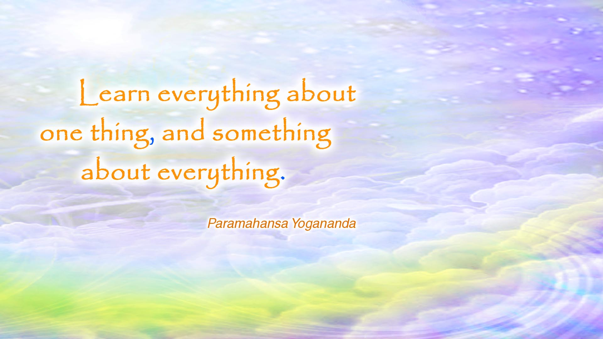Yogananda learn wallpaper