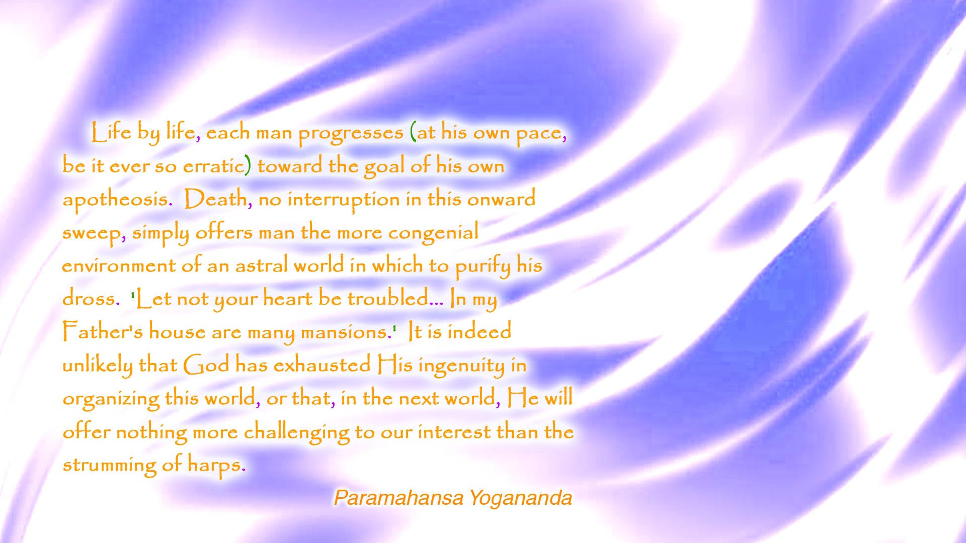 Yogananda life by life wallpaper