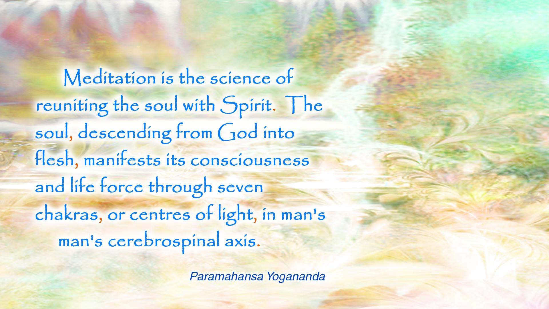 Yogananda meditation science wallpaper