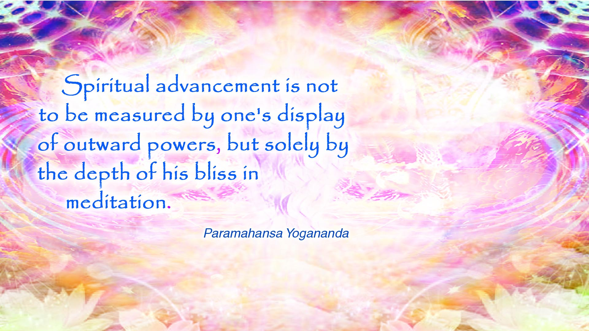 Yogananda spiritual advancement wallpaper