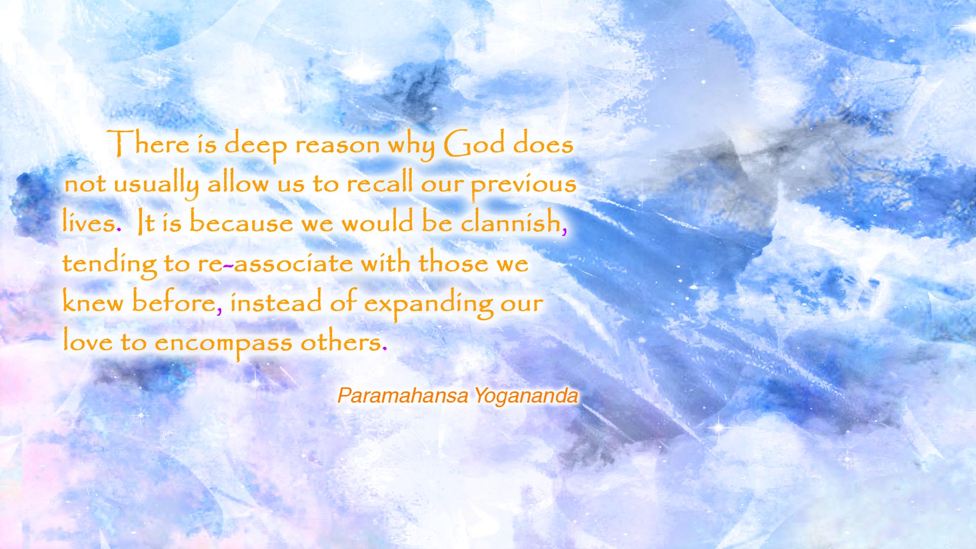 Yogananda recall lives wallpaper