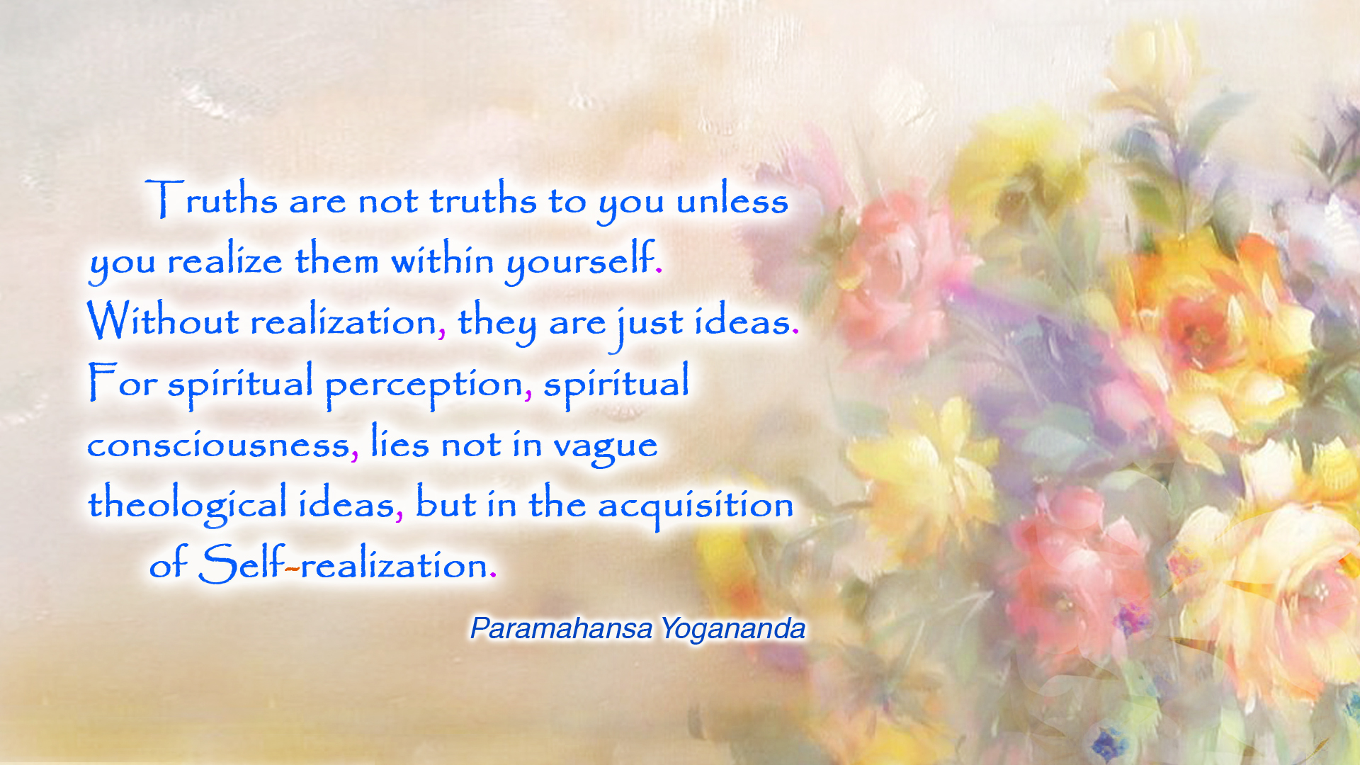 Yogananda truths ideas wallpaper