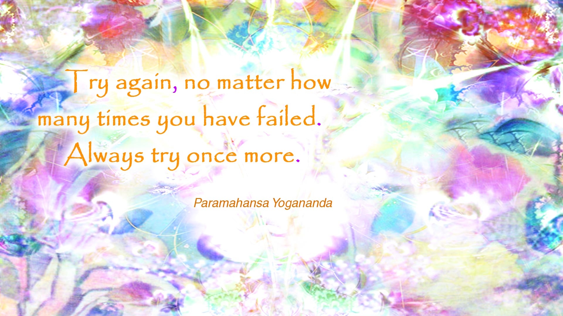 Yogananda always try wallpaper