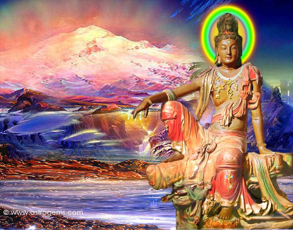 Avalokitesvara dalam perwujudan sebagai pria
