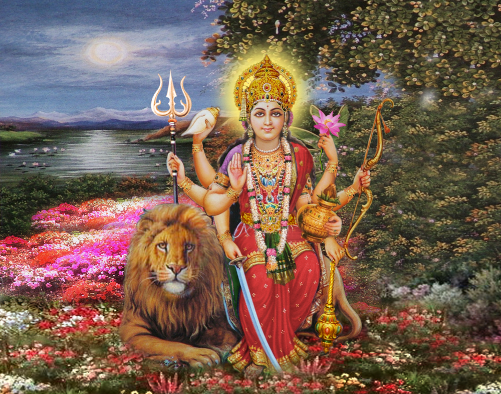 Ambe Wallpapers Devi Durga Wallpapers