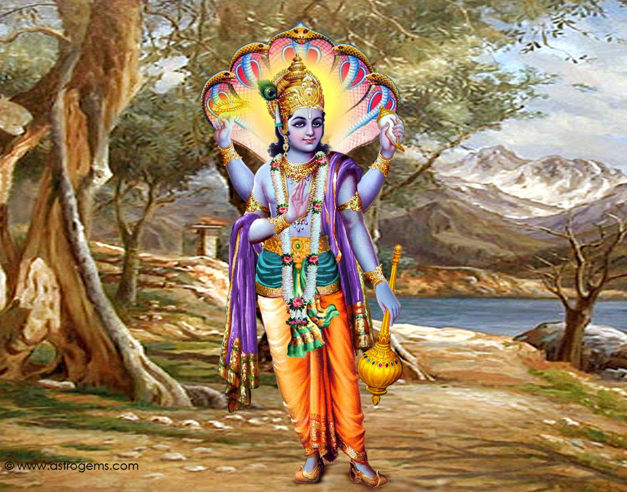 Must see Wallpaper Lord Hindu - Vishnu_17  Gallery_245598.jpg