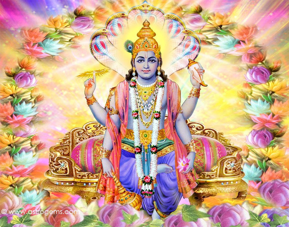 Vishnu , one among the Trinity of Hinduism