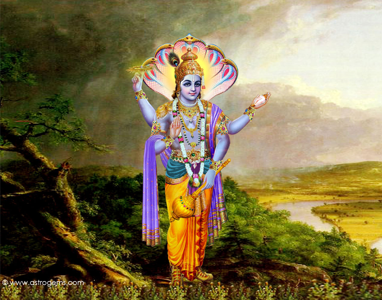 Best Wallpaper Lord Mahavishnu - vishnu_9  Gallery_995723.jpg